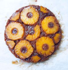 Pineapple Upside-Down Cake from Cake & Ale, Decatur GA