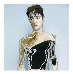 CALL ME HUMAN Collage digital Sebastián Delgado
