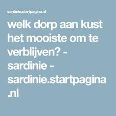 welk dorp aan kust het mooiste om te verblijven? - sardinie - sardinie.startpagina.nl