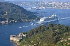 Ria de Ferrol. (A Coruña). Galicia. Spain.