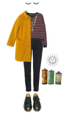 """""""good times"""" by julietteisinthe80s on Polyvore featuring Topshop, MANGO, Alicia Marilyn Designs, Sally Scott and Dr. Martens"""