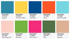 Light Blue is Back: Pantone Launches Spring 2017 Colors