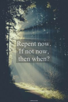 Who knows if you will live tomorrow or even the next hour. Don't procrastinate. Turn to Allah (SWT)