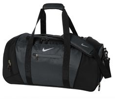 Nike Large Duffel Bag - Anthracite/Black *** You can find more details by visiting the image link. (This is an Amazon Affiliate link)
