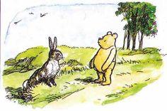 """Pooh,"" said Rabbit kindly, ""you haven't any brain.""  ""I know,"" said Pooh humbly.""  ― A.A. Milne, Winnie-the-Pooh"