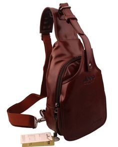 Brown Red Bike Messenger Shoulder Cross Body Sling Pack | Rudelyn's Sari Sari Store