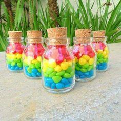 Rain mini jars