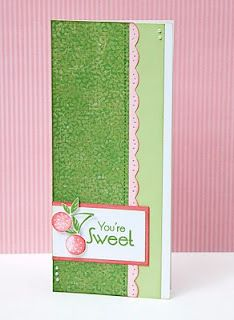 """""""You're Sweet"""" card idea from #CTMH."""