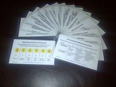 Nurse Cards, a handy pocket guide for Nursing students