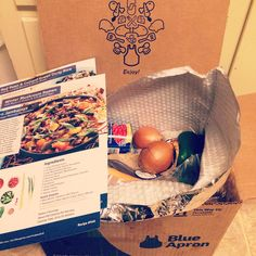Review of Blue Apron meal delivery