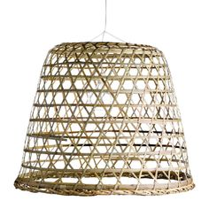 Woven Bamboo Hanging Basket – Sika Design USA