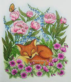 Instagram media coloring_by_daisy - #blomstermandala #mariatrolle…