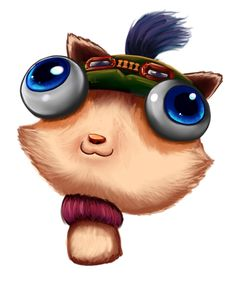 Teemo is such a cute charactere. But Gnar is life ^w^  #League_of_Legends