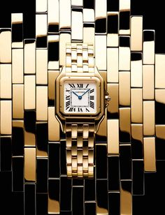 7541643264f Cartier gold Panthère de Cartier watch
