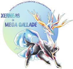 Mega Gallade X Xerneas by on DeviantArt Pokemon Fusion Nintendo Pokemon Mix, Pokemon Fusion Art, Mega Pokemon, Pokemon Comics, Pokemon Fan Art, Cool Pokemon, Pokemon Stuff, Pokemon Mashup, Pokemon Poster