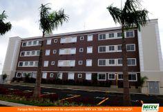 Paisagismo do Rio Reno. Condomínio fechado de apartamentos localizado em São José do Rio Preto / SP.