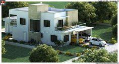 Planta de Sobrado - 4 Quartos - 181.23m² - Monte Sua Casa