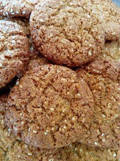 Greek Desserts, Greek Recipes, Baby Food Recipes, Cookie Recipes, No Sugar Foods, Peanut Butter Cookies, Healthy Sweets, Cupcake Cakes, Sweet Tooth