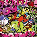 Ella and Viv Paper Company - Graffiti Collection - 12 x 12 Paper - Hip Hop