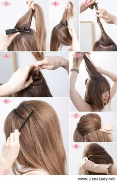 Awesome hairstyle tutorial