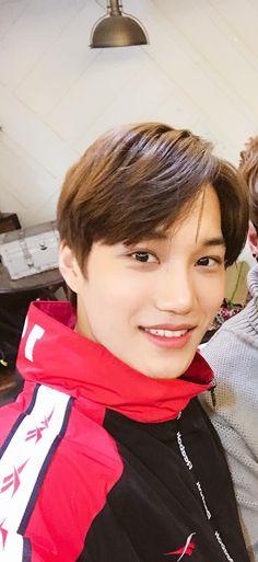 His smile is my weakness bruh like omg