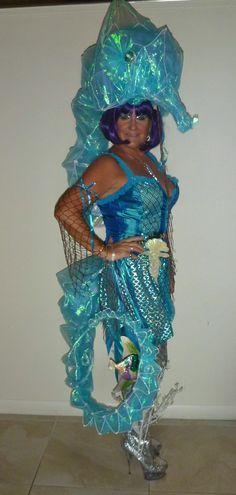diy seahorse costume - Buscar con Google