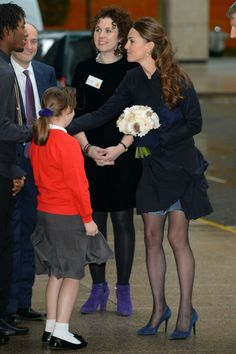 Kate Middleton joins Place2Be staff and children in Canary Warf