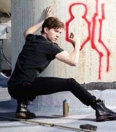 Rebel with a cause #TomHolland #Sexy