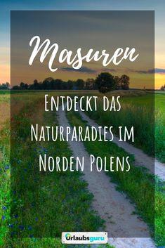 La Mazurie en Pologne - un paradis naturel Vacations To Go, Destination Voyage, Travel Scrapbook, The Locals, Travel Destinations, Travel Photography, Road Trip, Places To Visit, Danzig