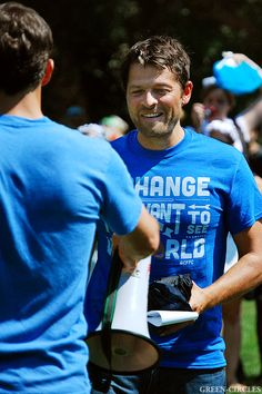 Misha Collins Seattle GISHWHES Meetup  August 3, 2014