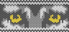 Wolf Eyes Kandi Pattern