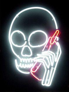 zusty:  http://www.yvesstohr.com/products/skullphone-neon