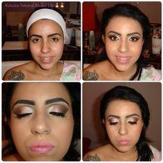 Make by Kézzia Amaral Make Up. Proposta, madrinha de casamento.