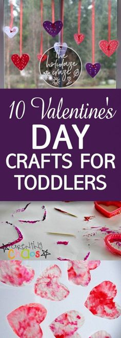 10 Valentine's Day Crafts for Toddlers| Valentines Day Crafts, Crafts for Kids, Fun Crafts for Kids, Toddler Crafts, Valentines Day Fun for Kids, Kid Stuff, Kid Activities, Popular Pin #Valentines #CraftsforToddlers