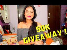 50,000 Subscribers Giveaway | Aarushi Jain