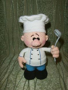 Вяжем миниатюрный половник для шеф-повара - Ярмарка Мастеров - ручная работа, handmade