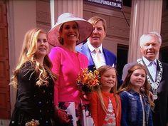 Koningsdag 2016 Máxima, Willem-Alexander en de prinsesjes   ModekoninginMaxima.nl