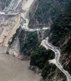Chamoli , Uttarakhand Roads.