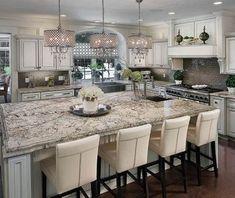 Kitchen Island Design Ideas_17