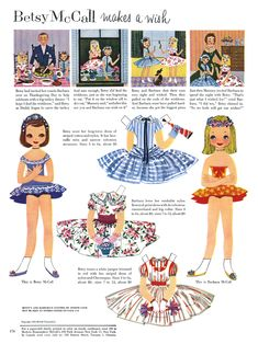 I loved paper dolls.  I was 3 in 1955.......also, my brother, Michael, was born that year.