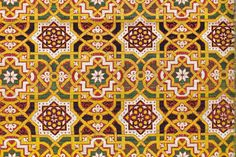 This image of a Islamic textile fragment would be a great example to show my middle school students about the historical and cultural context of art. The use of symmetry, line, repetition and the illusion of infinity touches on the principles of design. I would be a good example to show if we were creating our own geometric artwork.