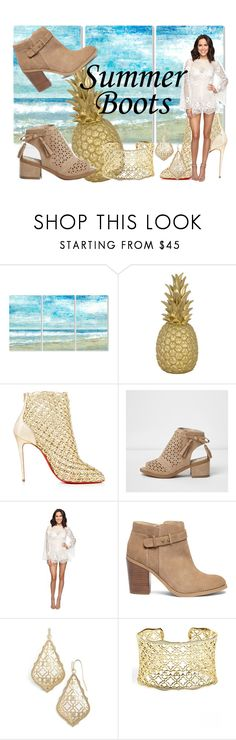 """""""Untitled #785"""" by irelandprep ❤ liked on Polyvore featuring Stupell, Goodnight Light, Alice McCall, Sole Society, Kendra Scott and summerbooties"""