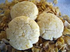 Hawaiian Cornflakes and butter flavor simple cookies