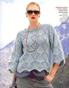 Вязание. Пуловер- дизайнерская модель от Луизы Хардинг. Обсуждение на LiveInternet - Российский Сервис Онлайн-Дневников