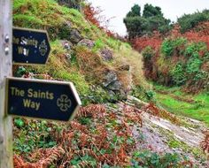 The Saints Way Walk Coast to Coast Cornwall Padstow to Fowey--Trail as old as the Bronze Age
