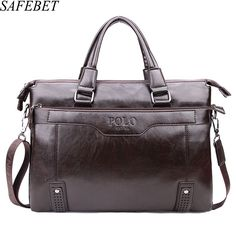 28.18$  Buy now - http://alif1w.shopchina.info/1/go.php?t=32804262047 - SAFEBET Brands Men Fashion Briefcase Business Shoulder Bag Leather Messenger Bags Computer Laptop Handbag Bag Men's Travel Bags  #magazineonlinebeautiful