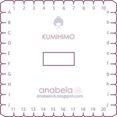 Plantilla-disco-kumihimo-cuadrado kumihimo-template