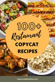 Here are of your favorite copycat recipes. Skip the restaurants and save money with these recipes that taste just as good as the real thing! Mexican Food Recipes, New Recipes, Cooking Recipes, Favorite Recipes, Healthy Recipes, Taco Bell Recipes, Whole30 Recipes, Cookbook Recipes, Easy Recipes
