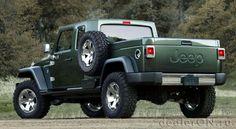 Пикап Джип Вранглер (JeepWrangler ), концепт Гладиатор