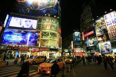 Ximen district in Taipei, Taiwan